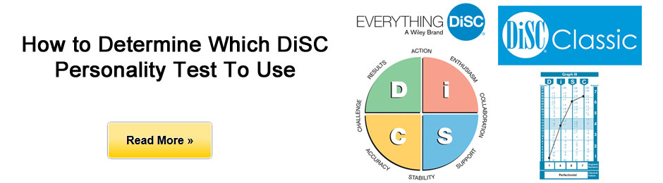 Which DiSC Profile is best to use?