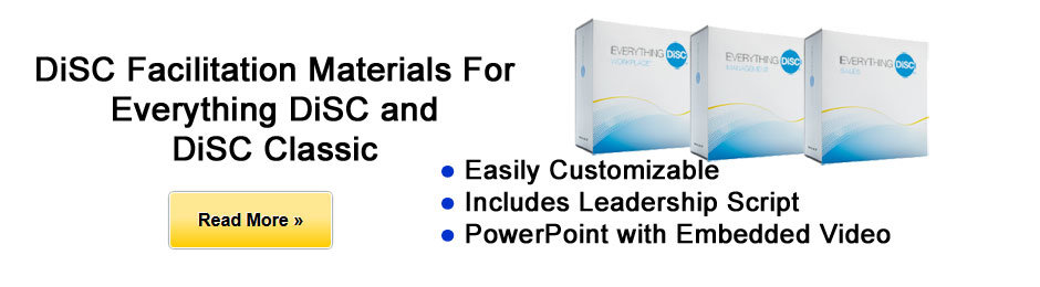 Everything DiSC and DiSC Classic Facilitation Materials